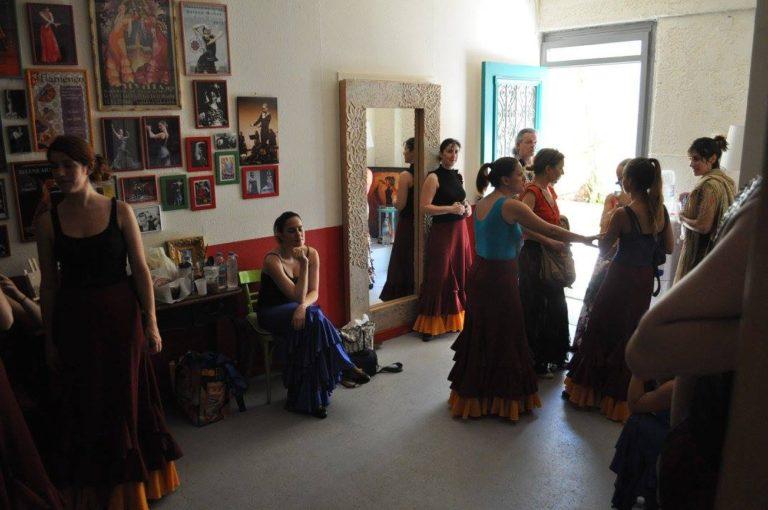 η σχολή χορού φλαμενκο Rueda, 6