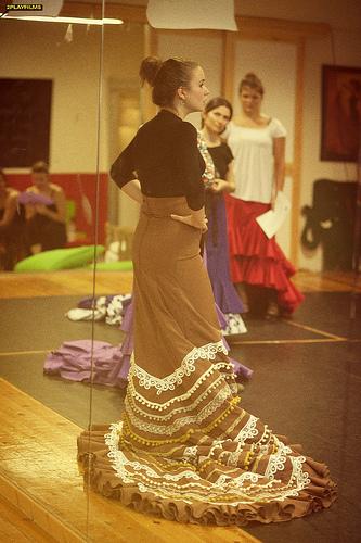 Curso flamenco με τη Selene Munoz-8