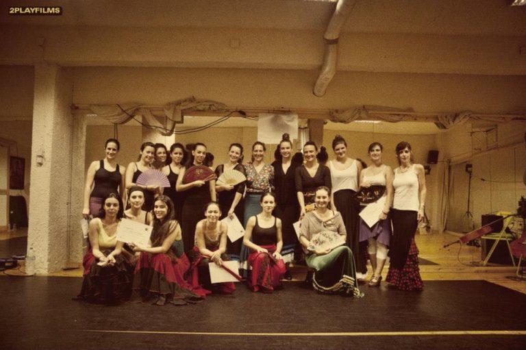 Curso flamenco με τη Selene Munoz-9