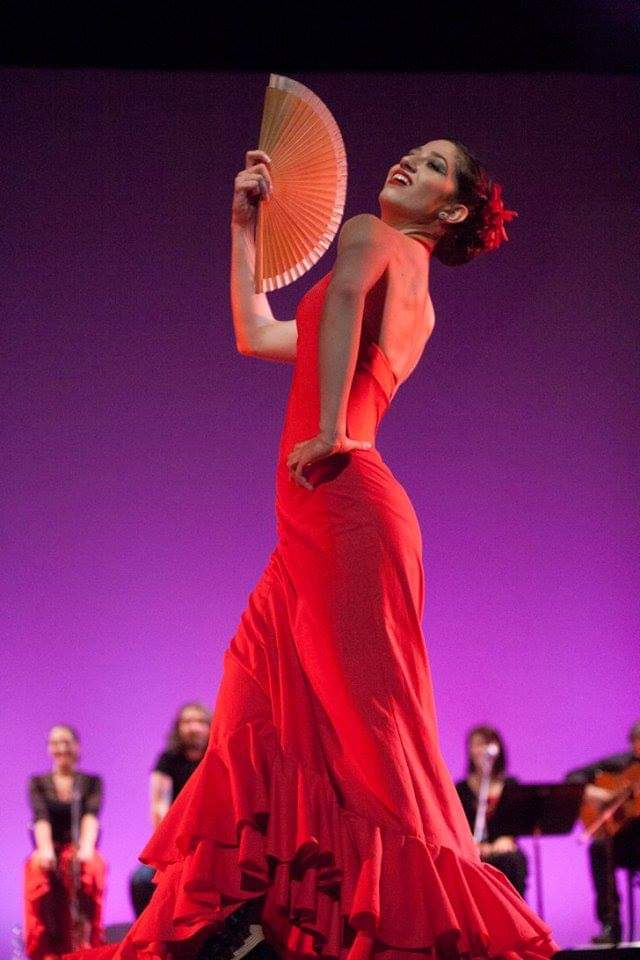 baile por guajira - Rueda Flamenco School