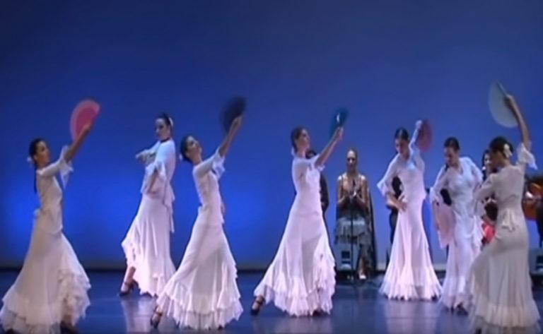 Flamenco Dance School - Rueda - Stella Pappa - Guajira flamenco - 2013
