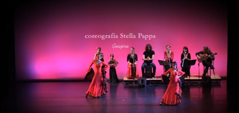 Guajira-Flamenco-Rueda-Peinetas-Flores-y-Lunares-Theater-ACS-Athens-2014