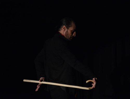 cursillo de baston con Adolfo Vega