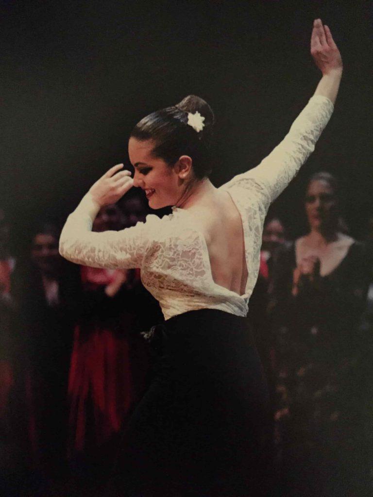 Eva Katsioti - flamenco dancer