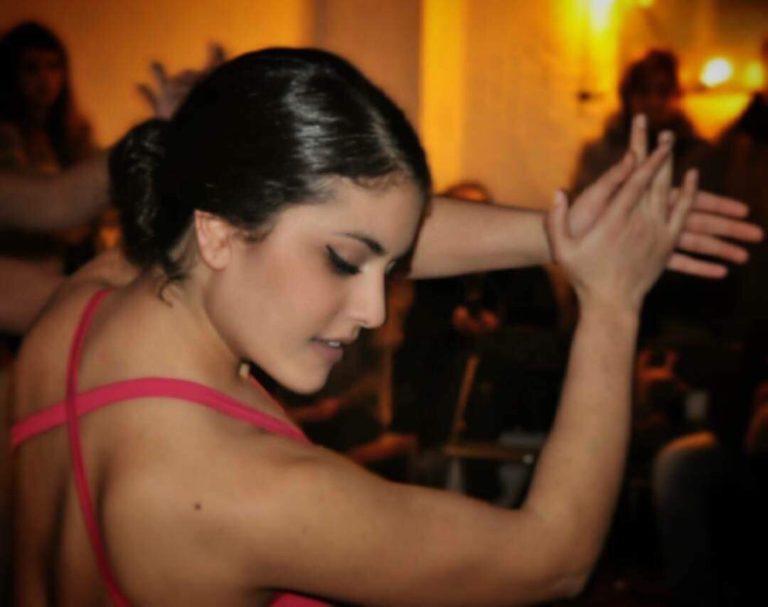 Eva Katsioti - flamenco teacher
