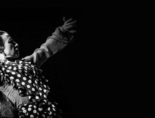Σεμινάριο με την flamenco tangos & bata de cola με την IRENE La Sentio στη σχολή χορού flamenco Rueda στα Βριλήσσια