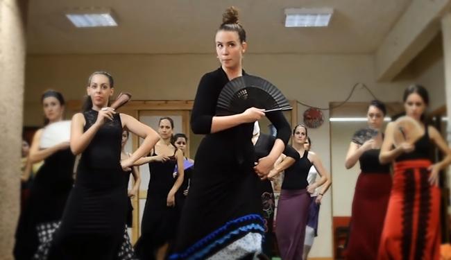 Curso flamenco με τη Selene Munoz-1