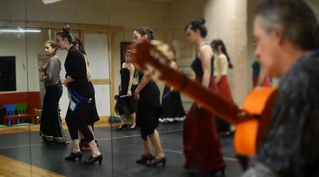 Curso flamenco με τη Selene Munoz-2