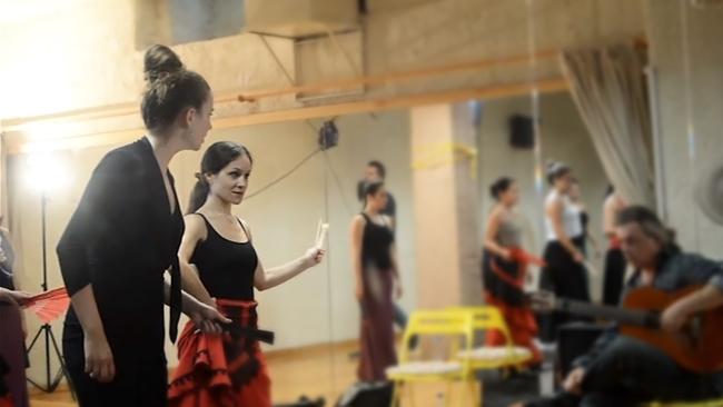 Curso flamenco με τη Selene Munoz-3
