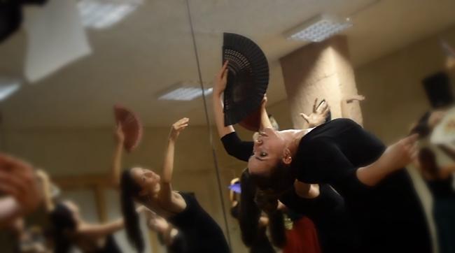 Curso flamenco με τη Selene Munoz-5