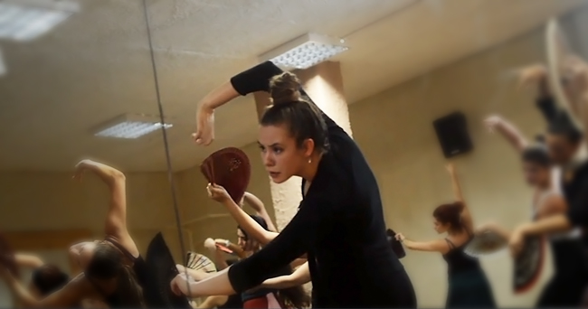 Curso flamenco με τη Selene Munoz-6