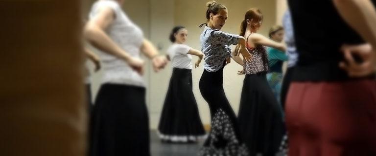 Μαθήματα Flamenco - Rueda - Στέλλα Παππά